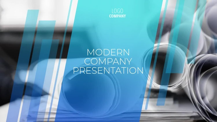 Modern Company Presentation: After Effects Templates