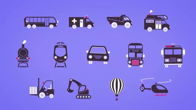 50 Simes Icons: After Effects Templates
