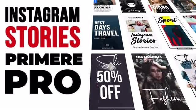 Instagram Stories  V.1: Premiere Pro Templates