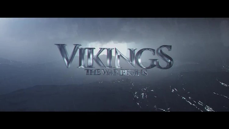 Vikings Title: After Effects Templates