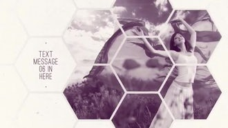Clean Hexagon Presentation: After Effects Templates