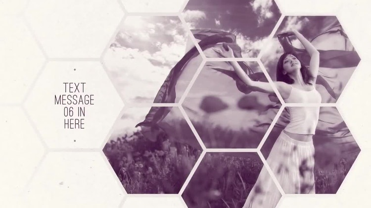clean hexagon presentation - after effects templates | motion array, Presentation templates