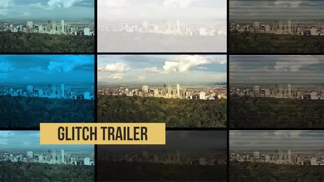 Glitch Trailer: Premiere Pro Templates