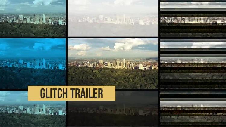 Glitch Trailer: Premiere Pro Templates