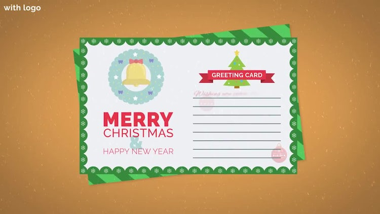 Free Christmas Card: After Effects Templates
