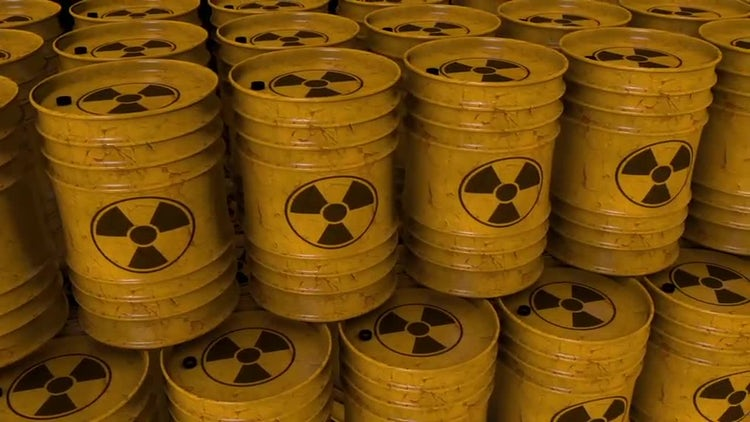 Nuke/ Radioactive Barrels Loop: Motion Graphics