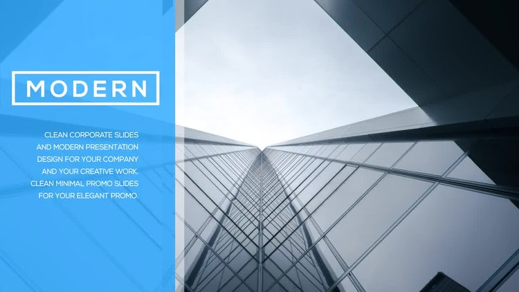 Modern Corporate Promo: After Effects Templates