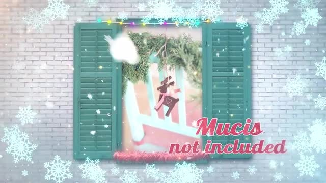 Christmas Memories Slideshow: After Effects Templates