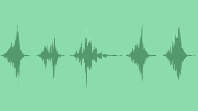 Woosh Transition Pack (5 Items): Sound Effects