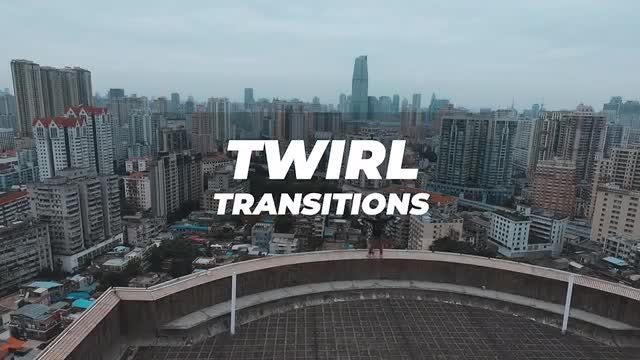 Twirl Transitions: Premiere Pro Presets