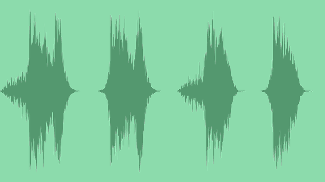 Futuristic Hybrid Glitch Logo: Royalty Free Music