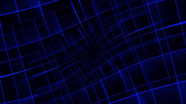 Space Hypnotic Grid 4K: Stock Motion Graphics