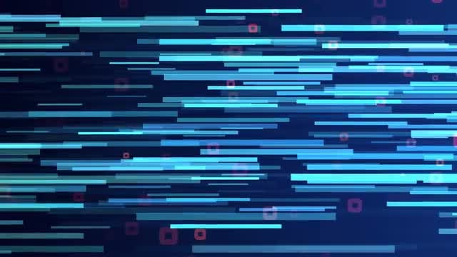 Strips And Squares Background: Stock Motion Graphics