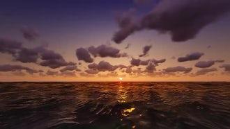 Ocean Sunset: Motion Graphics