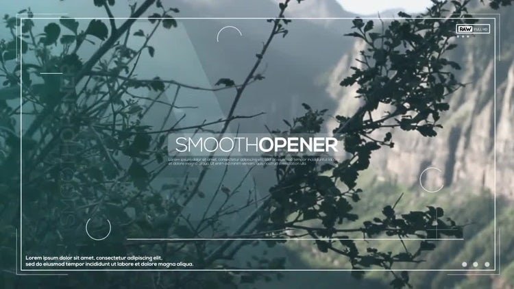 Smooth Opener: After Effects Templates