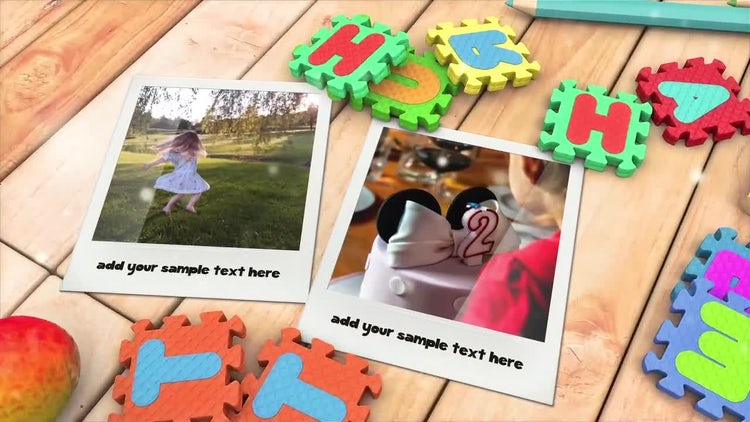 Kid's Photo Album: After Effects Templates