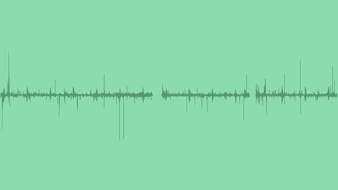 Record Static Noise: Sound Effects