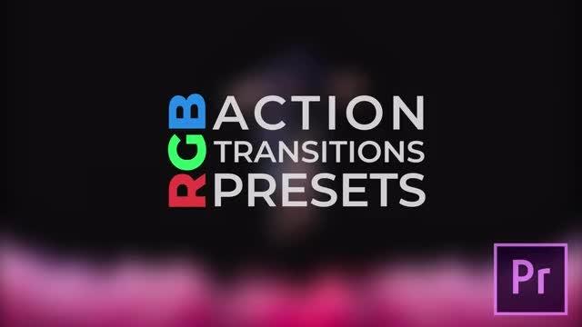 RGB Action Transitions: Premiere Pro Presets
