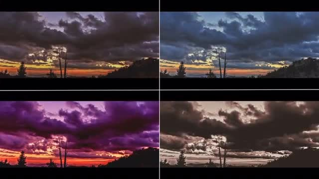 Cinematic Color Presets: After Effects Presets