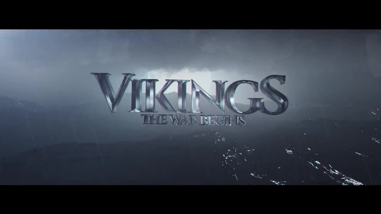 Vikings Title: Motion Graphics Templates