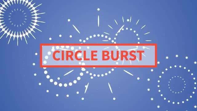Circle Burst: Stock Motion Graphics