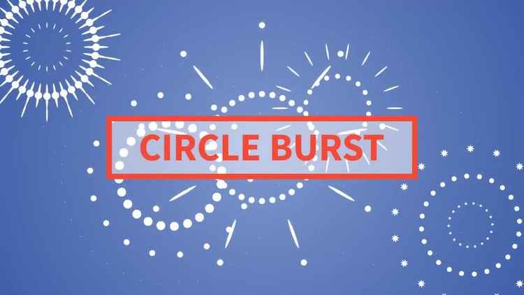 Circle Burst: Motion Graphics