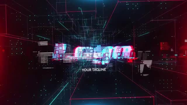Cubic City Logo Reveal: After Effects Templates
