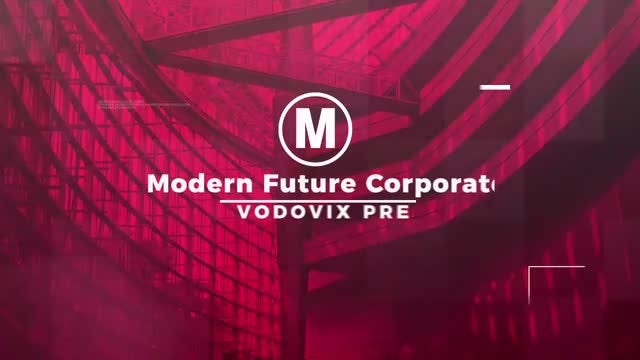 Modern Future Corporate: After Effects Templates