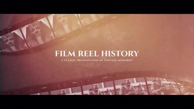 Film Reel History: After Effects Templates