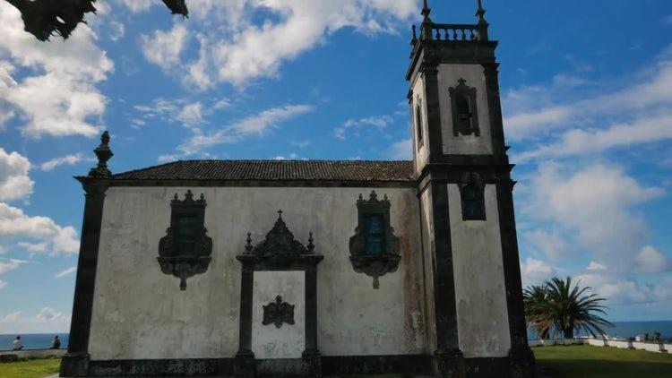 Old Catholic Church: Stock Video