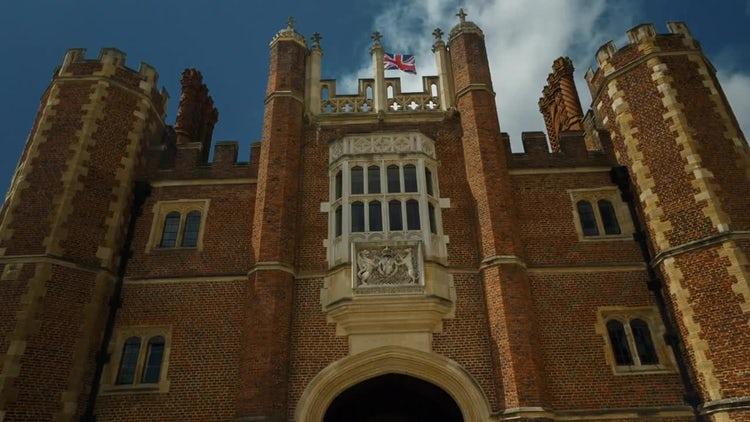 Hampton Court Palace, UK: Stock Video