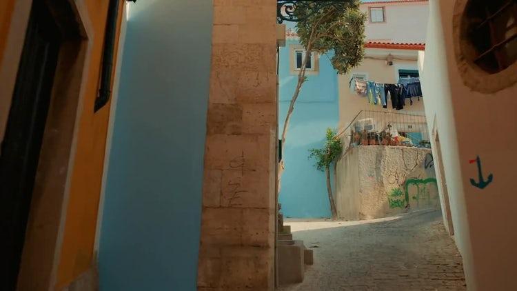 Streets Of Lisbon: Stock Video