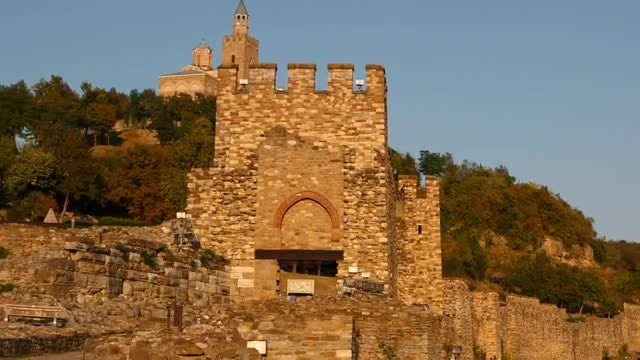 Medieval Town in Bulgaria: Stock Video