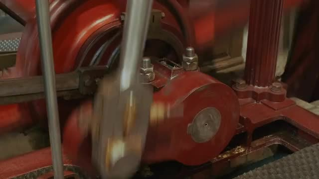 Industrial Engine In Operation: Stock Video