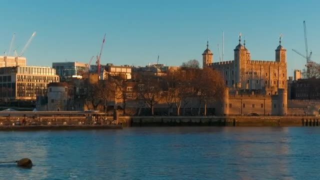 Tower Of London: Stock Video