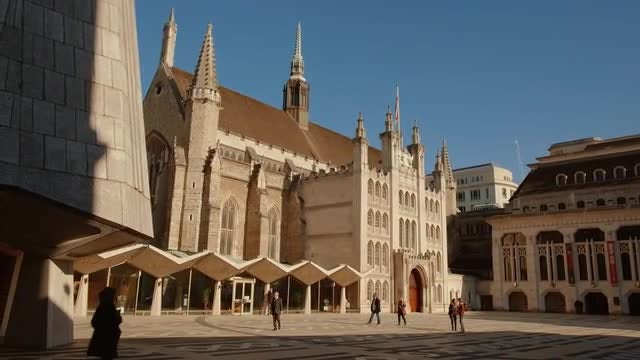 The Guildhall In London: Stock Video