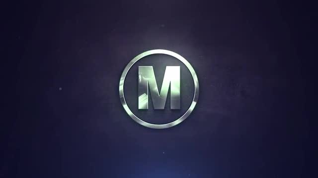 Liquid Metal Logo: After Effects Templates