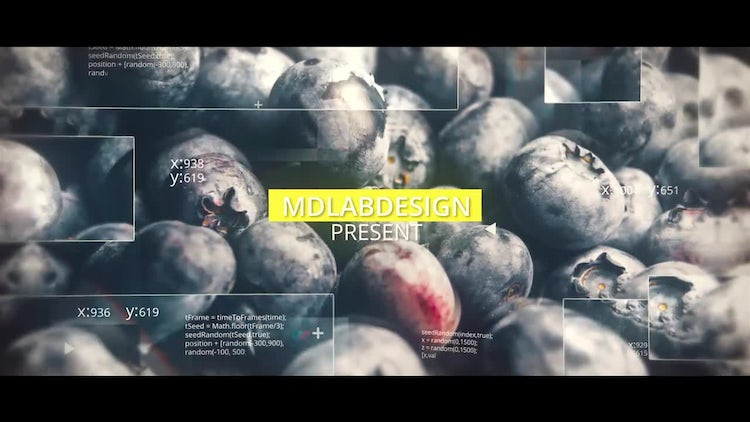 Digital Glass Slideshow: After Effects Templates
