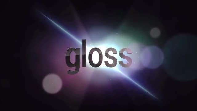 Gloss Title/Logo Reveal: After Effects Templates
