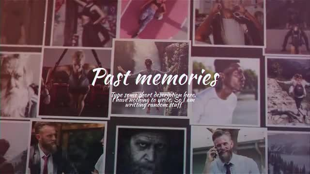 Paste Memories: After Effects Templates