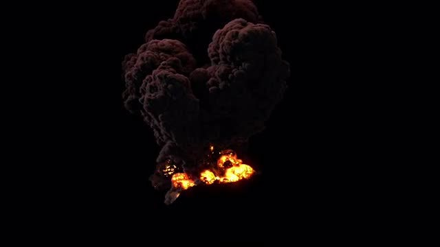 The Volcano: Stock Motion Graphics