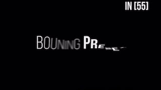 Bouning TextPreset V2.0: After Effects Templates