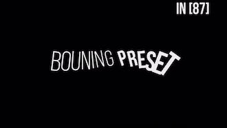 Bouning TextPreset V3.0: After Effects Templates