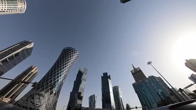 Amazed In Doha: Stock Video