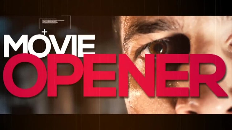 Movie Opener: After Effects Templates