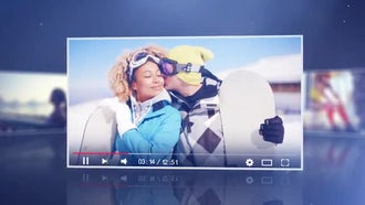 Youtube and Vimeo Promo: After Effects Templates