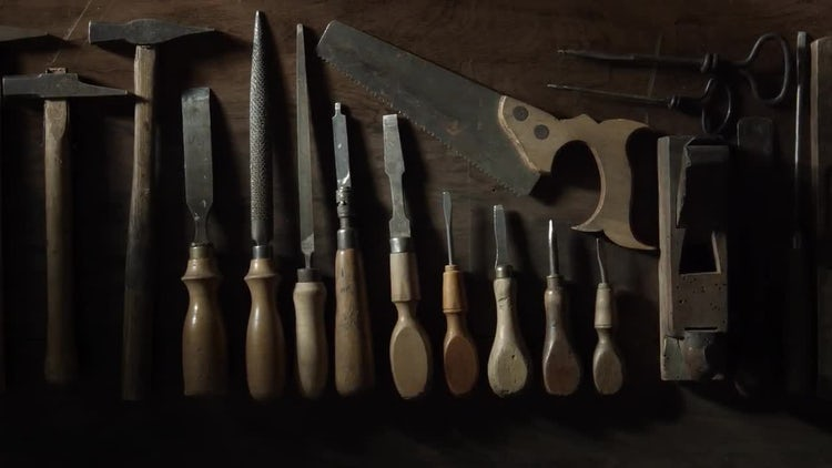 Woodworking Tools: Stock Video
