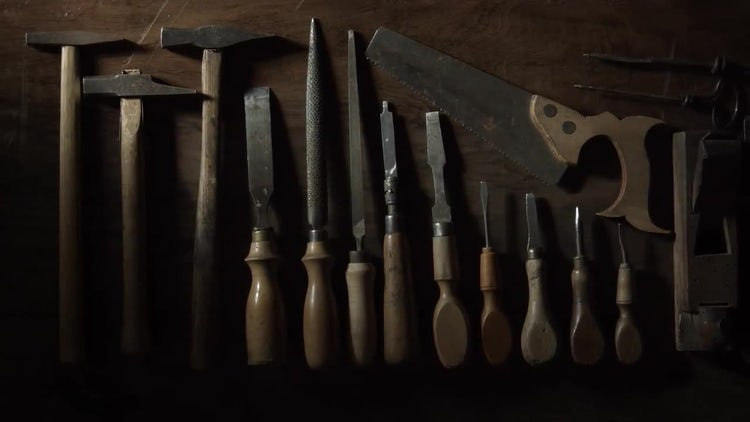 Carpentry Tools: Stock Video