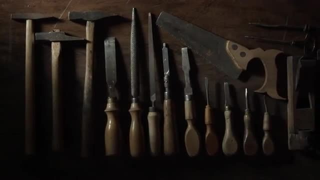 Carpentry Tools: Stock Video
