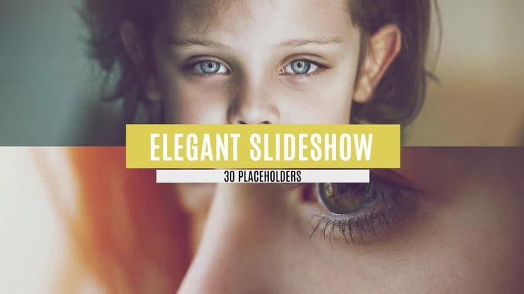 Elegant Slide Show: After Effects Templates